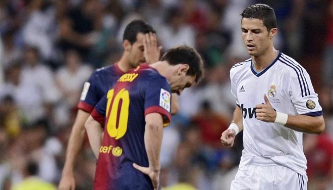 Real Barça Ronaldo Messi