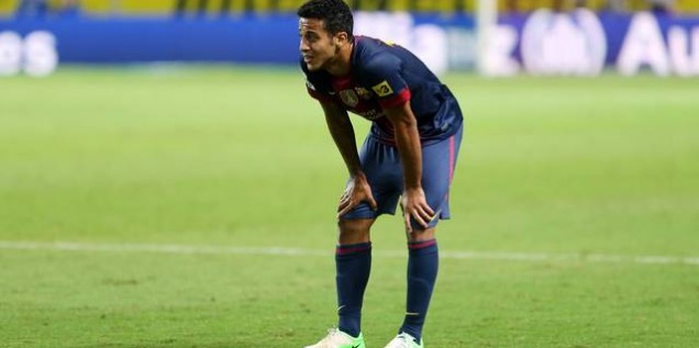 Thiago Alcantara blessure