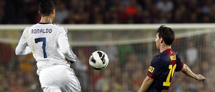 Ronaldo Messi Real Barça Clasico