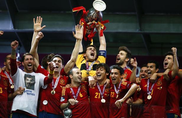 Espagne Roja Euro 2012