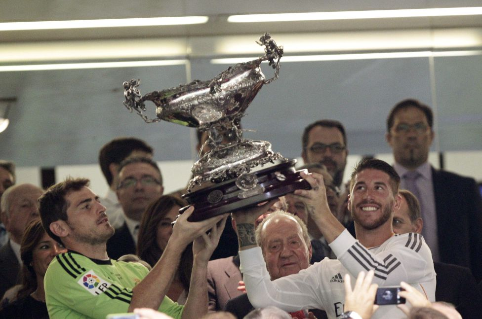 Iker Casillas Sergio Ramos