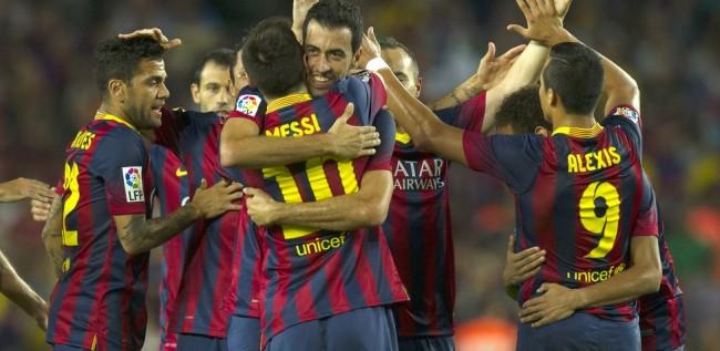 FC Barcelona 4-1 Real Sociedad