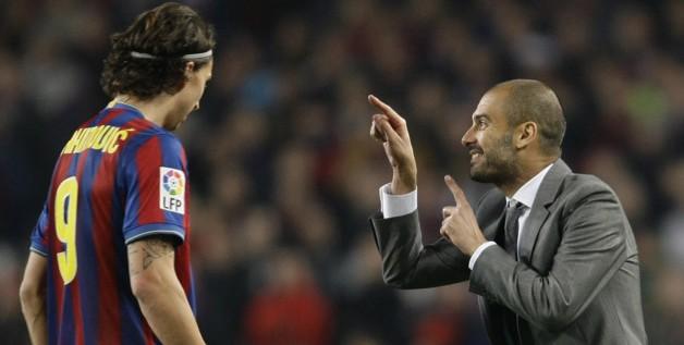 Ibrahimovic « Guardiola n'est pas un homme »