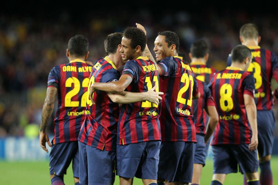 Neymar Messi Barça