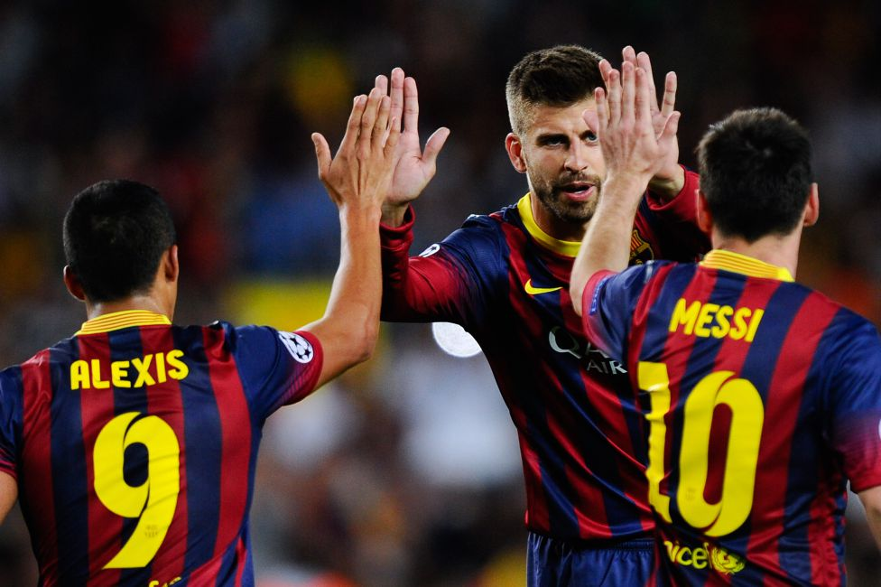 Piqué Alexis Messi