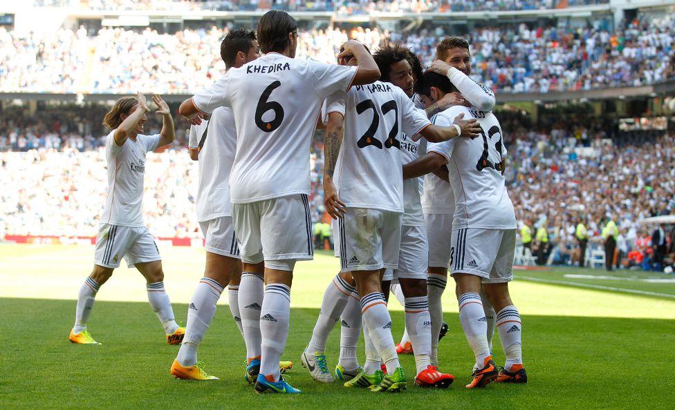 Real Madrid Isco Alarcon Sergio Ramos Marcelo