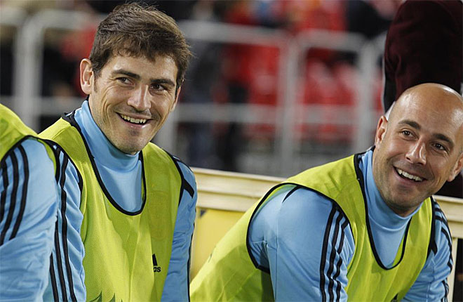 Iker Casillas Pepe Reina