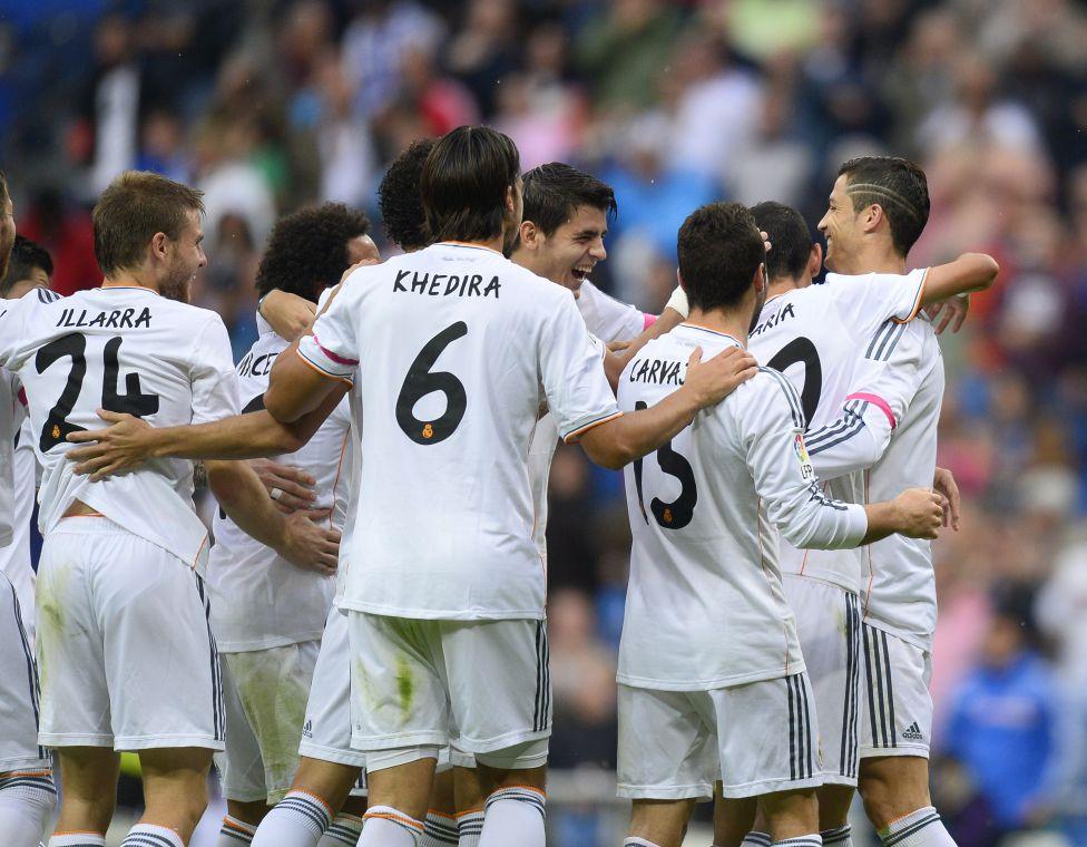 Real Madrid Di Maria Ronaldo Morata