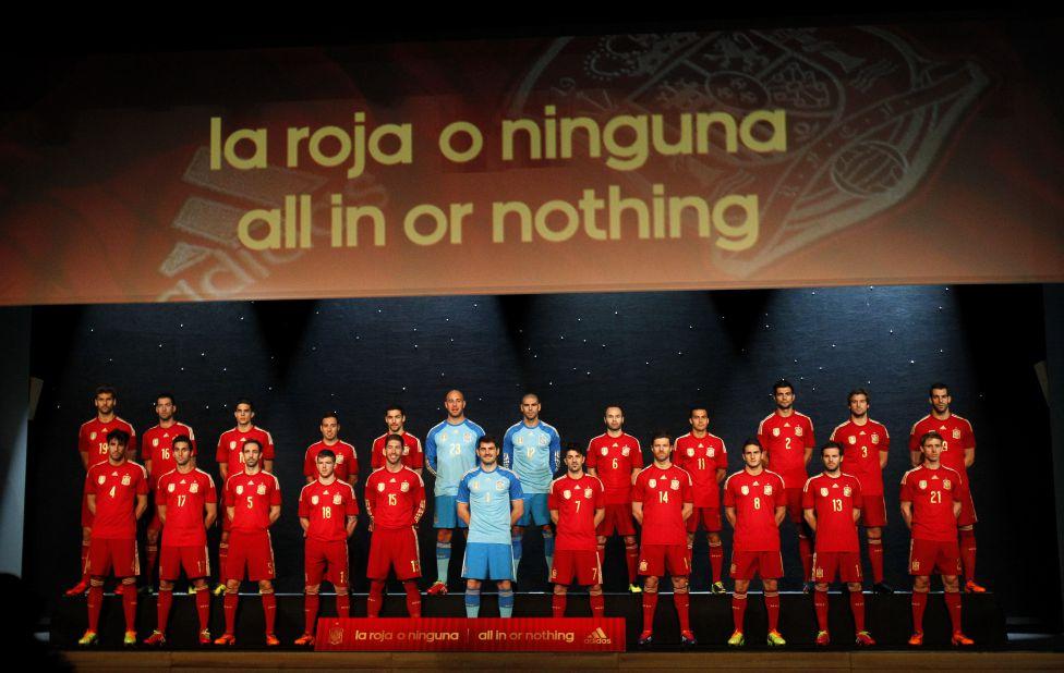 Espagne Roja Coupe du Monde Maillot