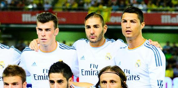 Gareth Bale Karim Benzema Cristiano Ronaldo