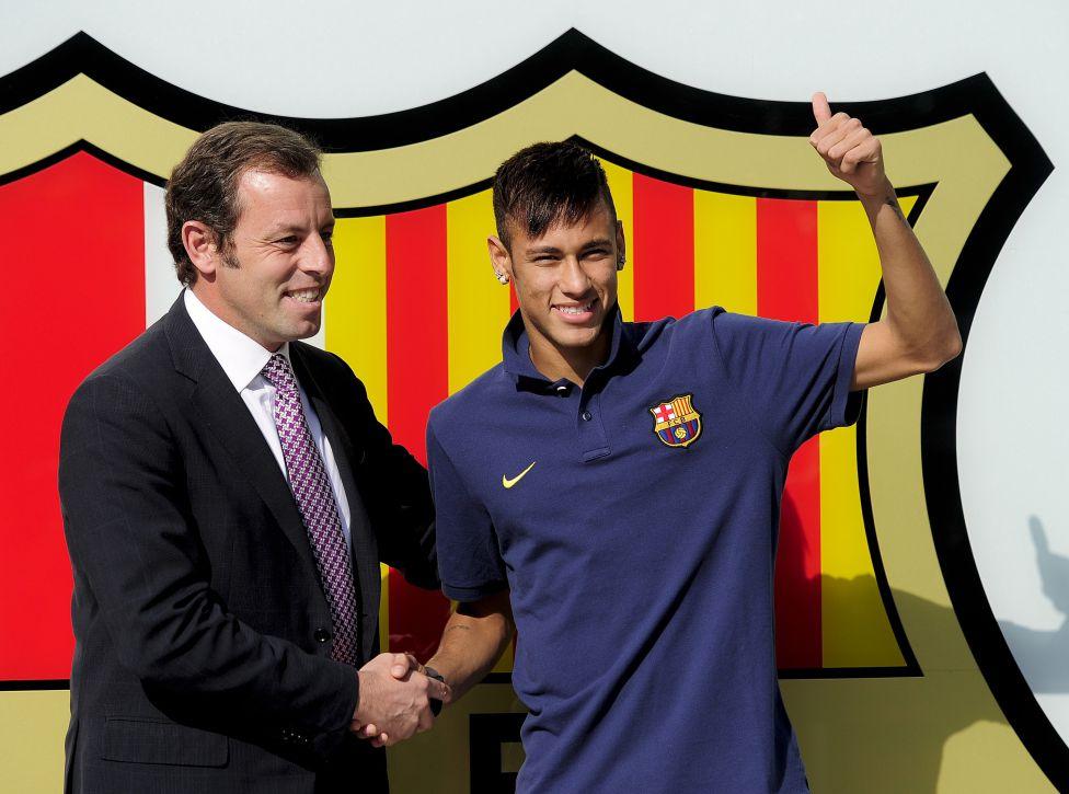 Sandro Rosell Neymar