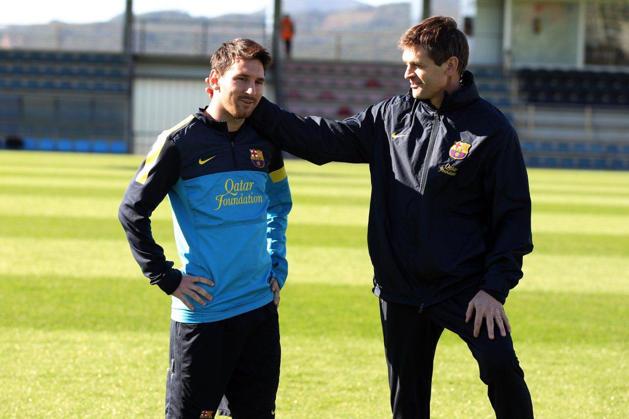 Vilanova a convaincu Messi de rester à Barcelone thumbnail
