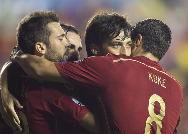 Espagne - Macédoine : 5-1, La Roja (se) rassure