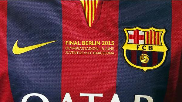 Bar a maillot sp cial pour la finale de la ligue des champions foot espagnol - Logo club foot espagnol ...
