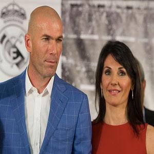 Comment s'appelle la femme de Zinédine Zidane ?
