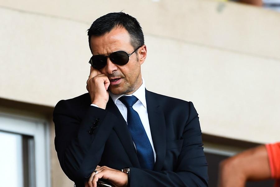 Jorge MENDES - 30.08.2014 - Monaco / Lille - 4eme journee de Ligue 1 - Photo : Olivier Anrigo / Icon Sport