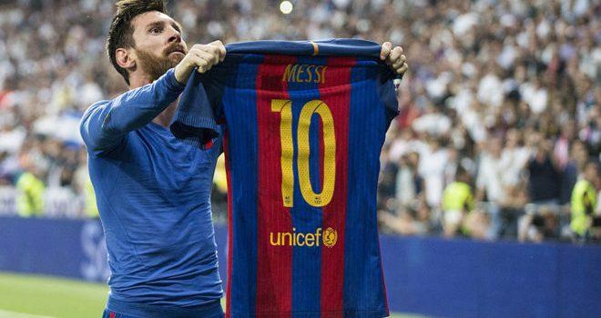 Barça : Messi incendie le Bernabéu avec sa célébration et ...